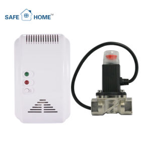 Gas Leakage Detector with Valve for Smart Home Security System pictures & photos