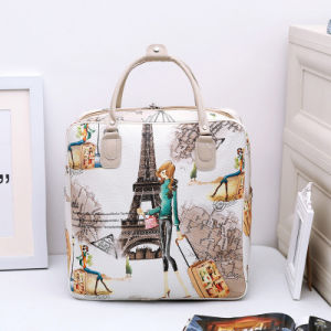 Korean Cute Cartoon Travel Bag, Women′s Hand Luggage Bag, Large Capacity Waterproof Travel Bag, Student Short Distance Travel Bag pictures & photos