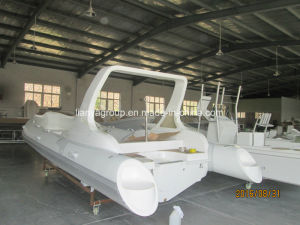 Liya Rib Boat Rigid Bottom Inflatable Boats with Outboard Engine pictures & photos