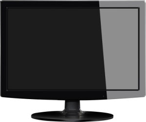 Slim 15.4 Inch LED Monitor with VGA pictures & photos
