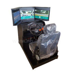 3 LED School Learning and Amusement Car Driving Training Simulator pictures & photos