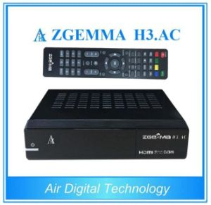 DVB-S2+ATSC Twin Tuners Zgemma H3. AC FTA Satellite Receiver Linux OS for America/Mexico Channels pictures & photos