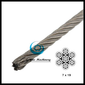 316 Type 7*19 Stainless Steel Aircraft Cable pictures & photos