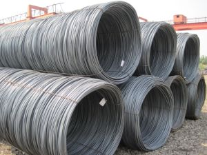 Deformed SAE1008 Hot Rolled Steel Wire Rod pictures & photos
