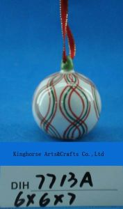 Christmas Tree Decorative Ceramic Round Baubles pictures & photos