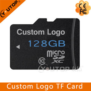 Custom Logo Class 10 Micro SD TF Memory Card 128GB pictures & photos
