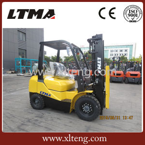 Manual Hydraulic Forklift 2.5t LPG Dual-Fuel Forklift pictures & photos