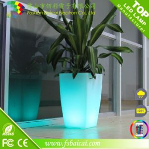 Attractive Quality LED Decorative Outdoor Vases
