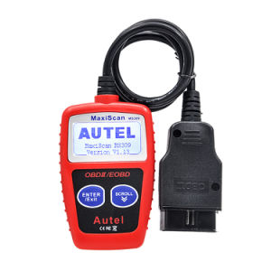 100% Original Maxiscan Ms309 OBD2 Obdii Scanner Code Reader Car Ms 309 Diagnostic-Tool pictures & photos