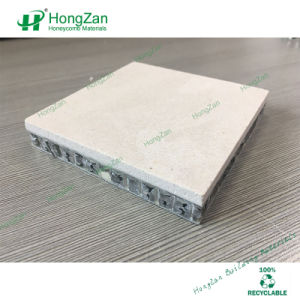 Light White Color Stone Like Aluminum Honeycomb Panel pictures & photos