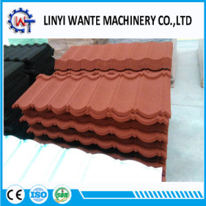 Soncap Stone Coated Metal Ceramic Roofing Bond Tiles pictures & photos