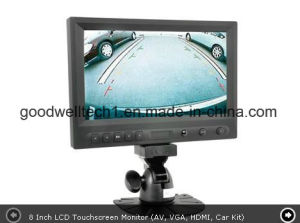 "8"" 16: 9 Widescreen LCD Touch Car Monitor with Auto Rearview Switch pictures & photos"