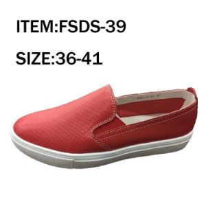 Footwear Outdoor Leather Casual Lady Shoes pictures & photos