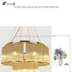 Modern Simple Circle Pendant Lamp Chandlier for Living Room pictures & photos