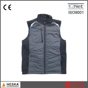 Fashion Down Jacket Factory China Black Winter Vest pictures & photos