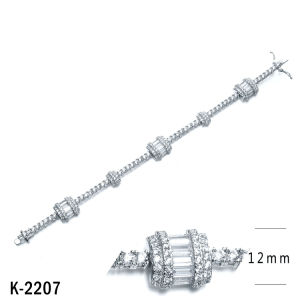New Model 925 Silver Bracelet Jewelry Factory Wholesale pictures & photos