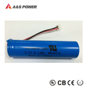 Rechargeable Battery 3.7V 2200mAh Li-ion Battery for Bluetooth Headphone pictures & photos
