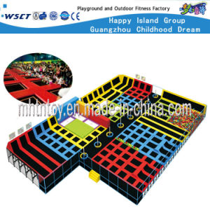 Commercial Tranpoline Playground Equipment Children Playground Sets (HF-19605) pictures & photos
