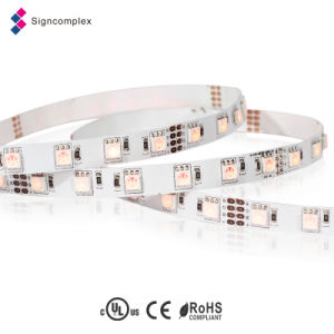Decorative RGB Rope LED Light LED Strip 12 Volt, SMD 3528 Constant Current LED Strip with Ce RoHS pictures & photos