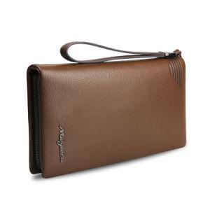 Men Travel Wallet Genuine Leather Cow Skin Fashion Wristlet Bag pictures & photos