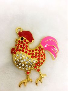 2017 New Products Jewelry Chicken USB Flash Drive for Hot-Selling 8GB, 16GB, 32GB pictures & photos