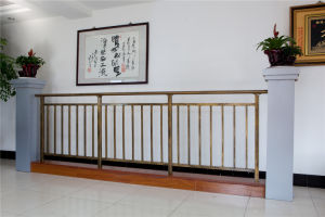 High-Quality Decorative Galvanized Steel Aluminium Alloy Balcony Railing 23 pictures & photos