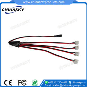 4way CCTV Power Cord DC Splitter with Screw Terminal (SP1-4H-2) pictures & photos