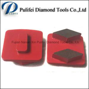 Redi Lock Metal Abrasive Tools Rhombus Segment Diamond Abrasive Pad pictures & photos