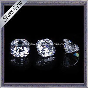 Sparkle Asscher Cut 8X8mm Moissanite Loose Stone pictures & photos