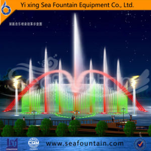 LED Light Decorative Outdoor Floating Music Fountain pictures & photos