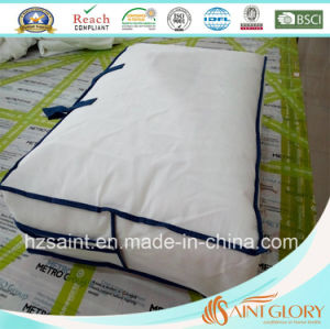 100% Cotton Fabric Down Quilt White Goose Feather and Down Comforter pictures & photos
