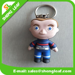 2D Japanese Katoon People Rubber Key Chain pictures & photos
