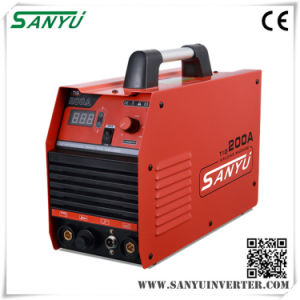 Sanyu 2016 Inverter Single Phase High Frequency Portable TIG Welder pictures & photos
