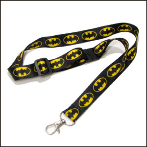 Pretty Gradient Color Dye Sublimated/Heated Transfer Custom Lanyard for Enterprise pictures & photos