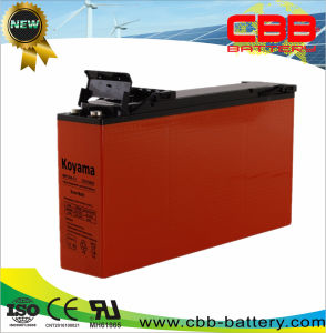Top Selling 12V 150ah Slim Shape Front Terminal AGM Battery pictures & photos