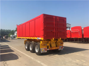 3 Axles Dumping Box Semi-Trailer pictures & photos