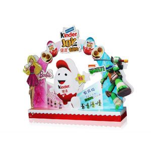 Chocolate Bar PDQ Display, Cardboard Table Display for Chirstmas pictures & photos