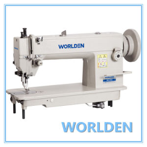 Wd-0302 Top and Bottom Feed Lockstitch Sewing Machine pictures & photos