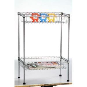 Adjustable Mini Chrome Metal Deepened Wire Basket Rack (CJ603590B2C) pictures & photos