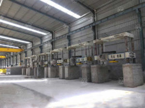 Yhqj-2500 Gantry Stone Cutting Machine for Column Slab pictures & photos