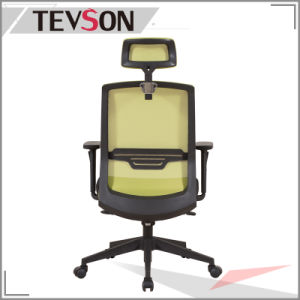 2016 Ciff Show Type Office Mesh High Back Chair with Synchronous Mechanism pictures & photos
