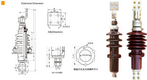 Transformer Bushing 10kv/20kv 800A---3150A for High Voltage pictures & photos