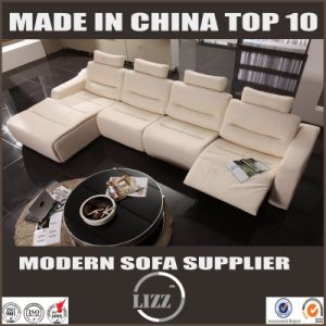 2017 New Genuine Leather Sofa Recliner pictures & photos
