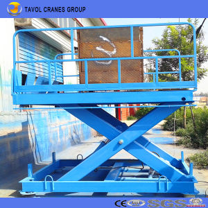 1000kg Hydraulic Fixed Scissor Lift pictures & photos