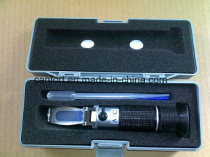 High Quality Hand Held Metal Brix Refractometer with Atc, 0-10% pictures & photos