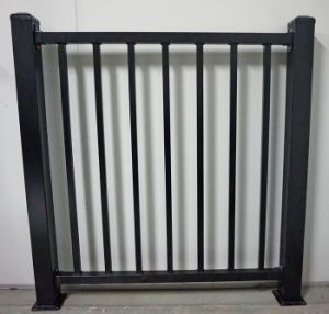 Customized Anti-Corrosion Zinc Steel Assembled Decorative Picket Grassland Pool Fence pictures & photos