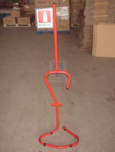 CO2 Fire Extinguisher Trolley for 10kg-20kg pictures & photos