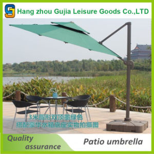 10 Feet 3m Garden Parasol Beach Round Offset Patio Commercial Umbrella