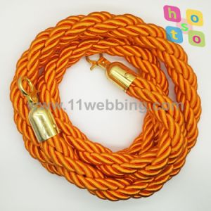 Velvet Ropes, Twisted, Braid Ropes for Crowd Control Stanchion pictures & photos