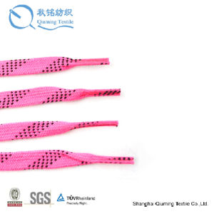 Wholesale Colored Flat Waxed Hockey Skate Laces pictures & photos